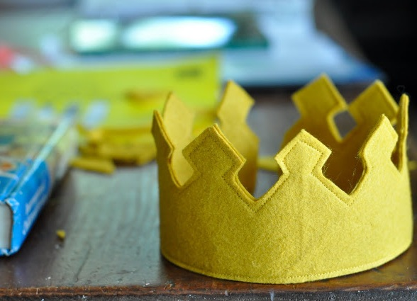 Своими руками корона для принца