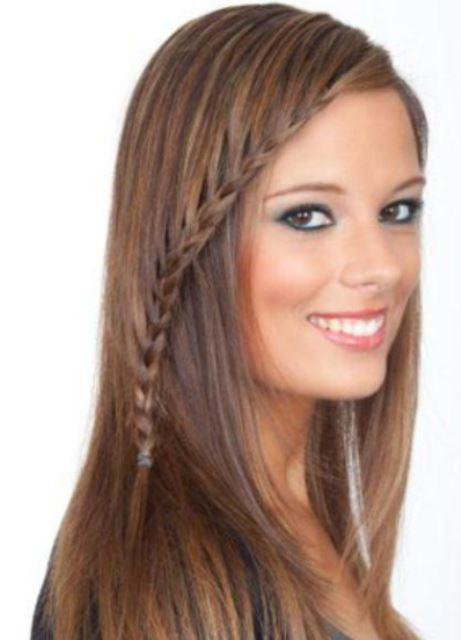 Как сделать укладку тонких длинных волос