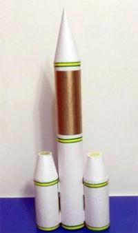 Как быстро сделать ракету