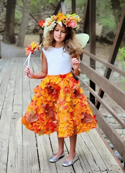 Платье для девочки осень своими руками