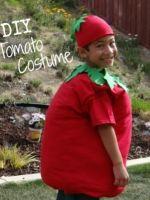 Костюм помидора своими руками