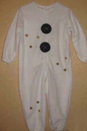 костюм снеговика своими руками 19