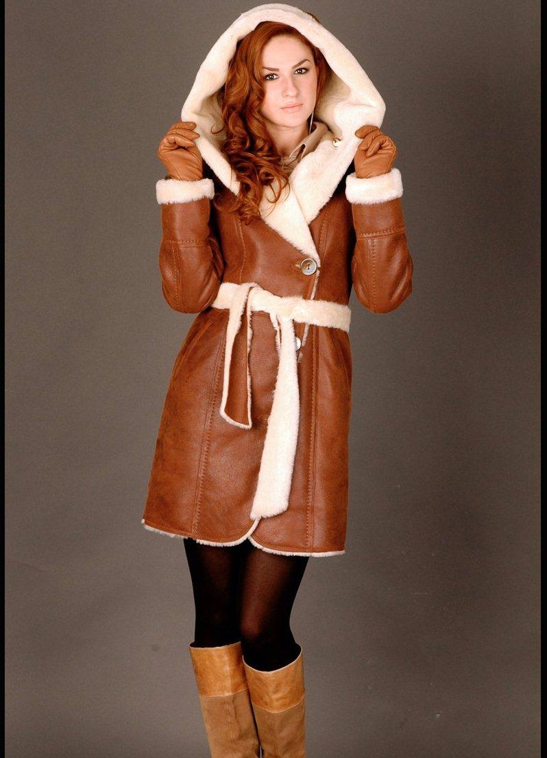 Купить зимнюю дубленку женскую - Женская зимняя верхняя одежда из меха и