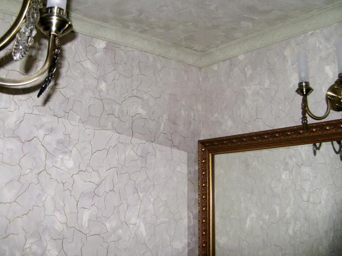 Кракелюр на стенах своими руками