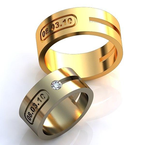 красивые широкие кольца