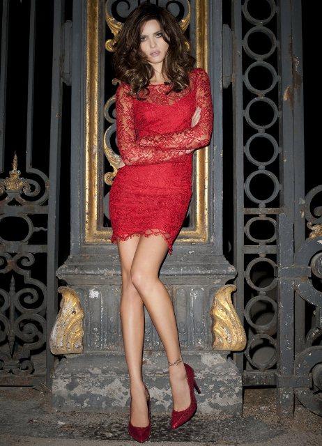 осенние красивые платья фото