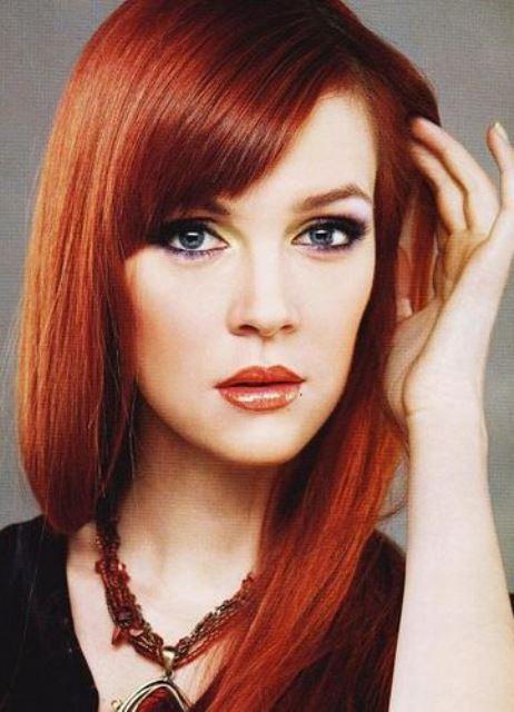 краска для волос рыжего цвета
