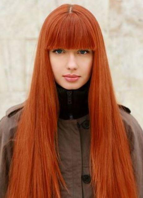 Рыжий цвет волос как смыть