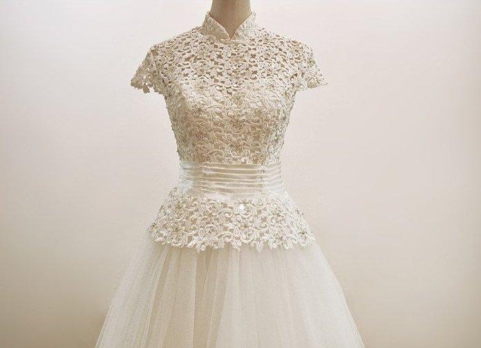 Платья с элементами вязания