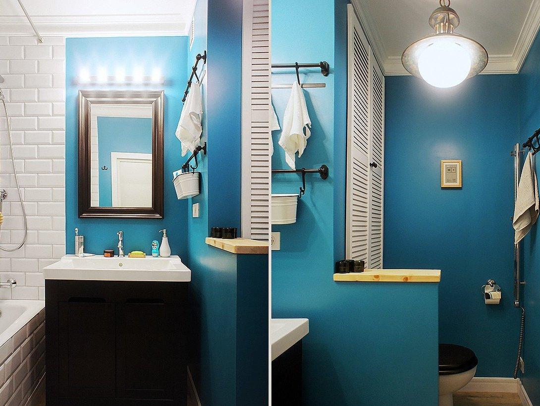 Дизайны стен в ванной фото
