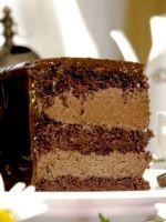 Глазурь для шоколадного торта