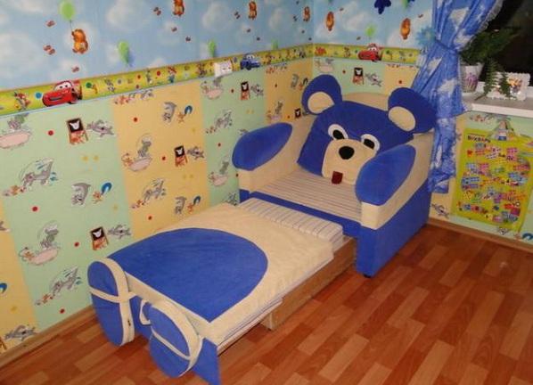 фото детские кресло кровати