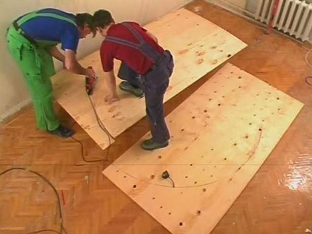 Как сделать подиум полукруглый своими руками 81