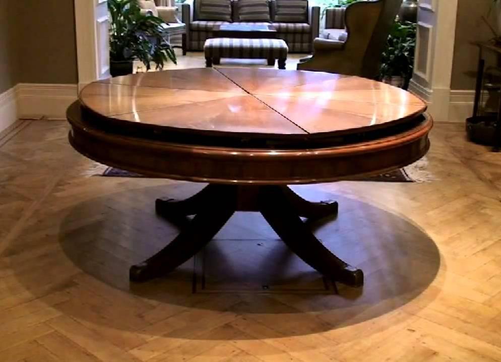 Своими руками раздвижной круглый стол