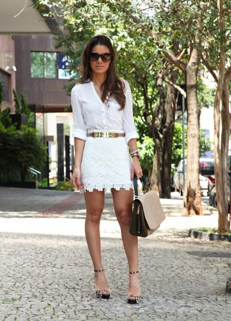 Кружевные юбки - модный тренд сезона. . Самым популярным фасоном в нынешнем сезоне