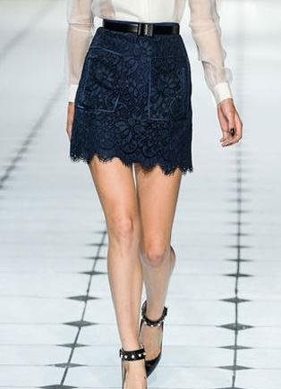 Кружевные юбки 2013