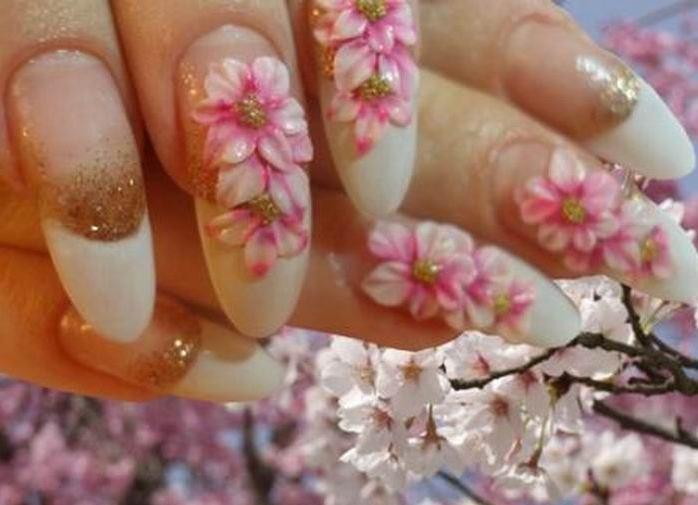 Дизайн на ногтях фото акрил