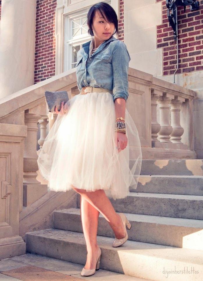 юбка пачка фото с чем носить