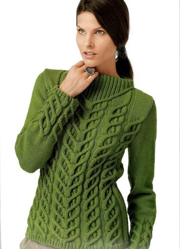 Женские модели спицами вязание