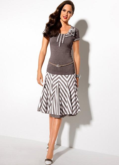 обработка верхнего среза юбки обтачкой презентация
