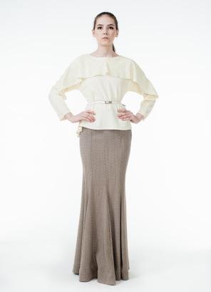 Длинная юбка годе с чем носить фото