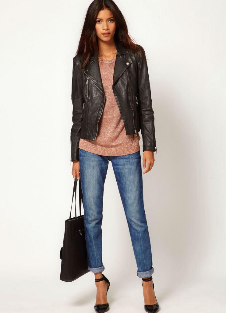 Модные кожаные куртки купит