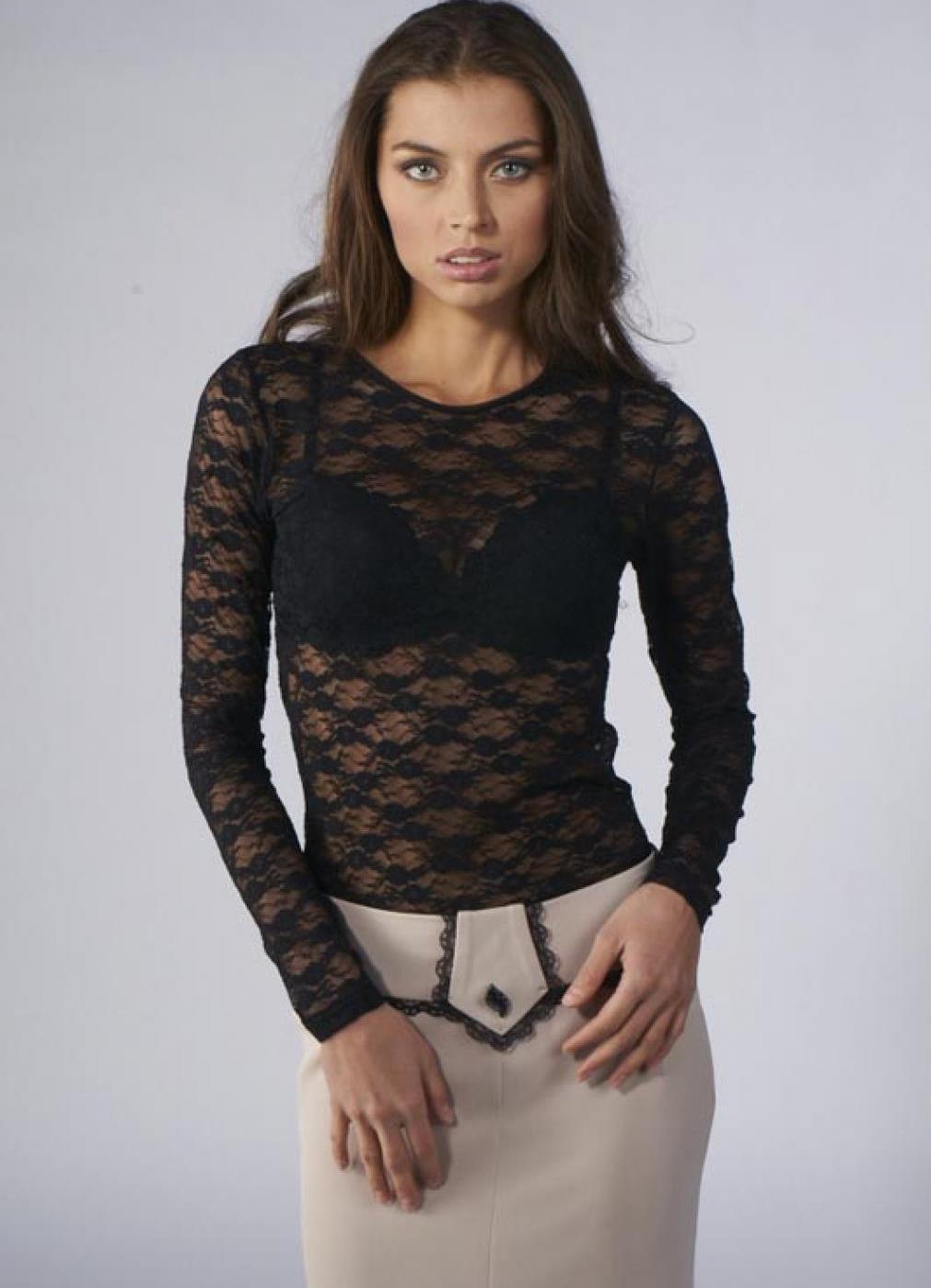 Ажурная блузка в спб