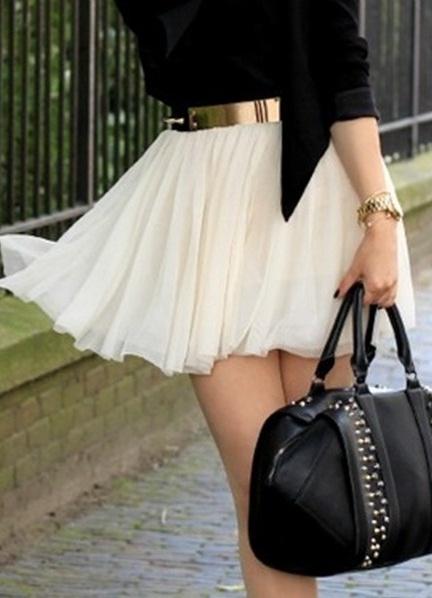 вид с низу юбки: