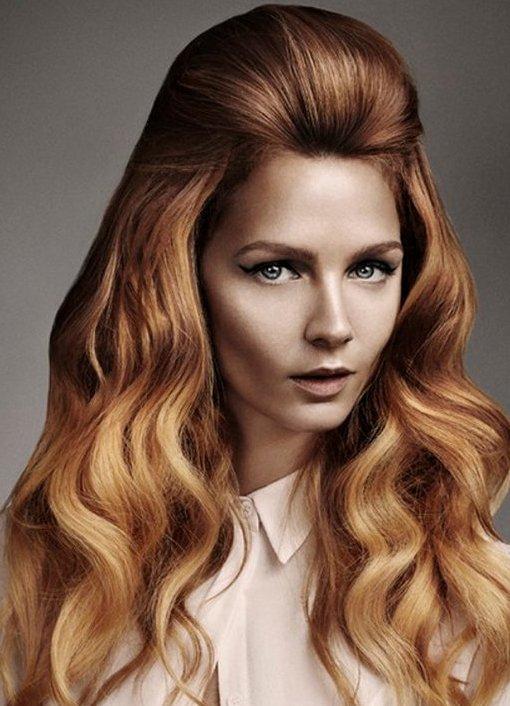 актуальный цвет волос фото