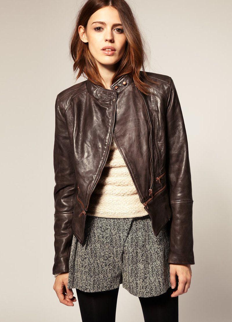 Байкерские Кожаные Куртки