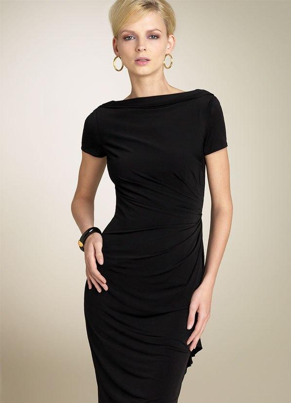 Фото платья чёрного