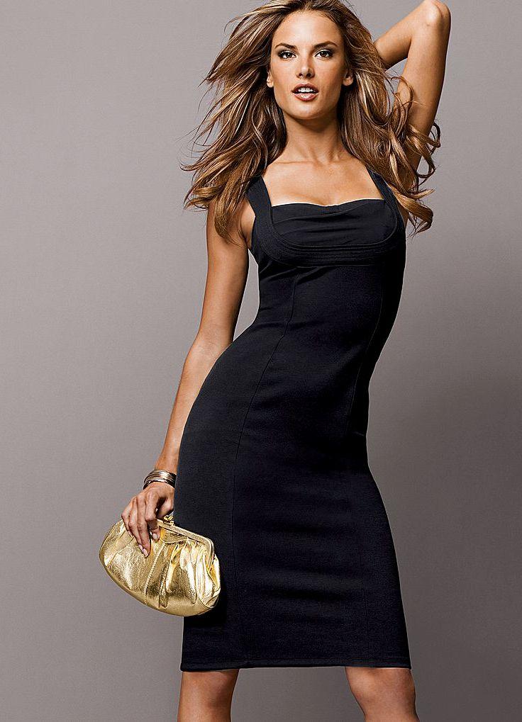Секрет счастья.  Permalink to Начало пути маленького черного платья.