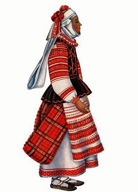 Белорусская национальная одежда 3