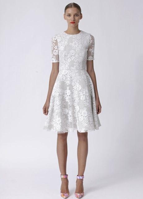 Купить платье из кружева