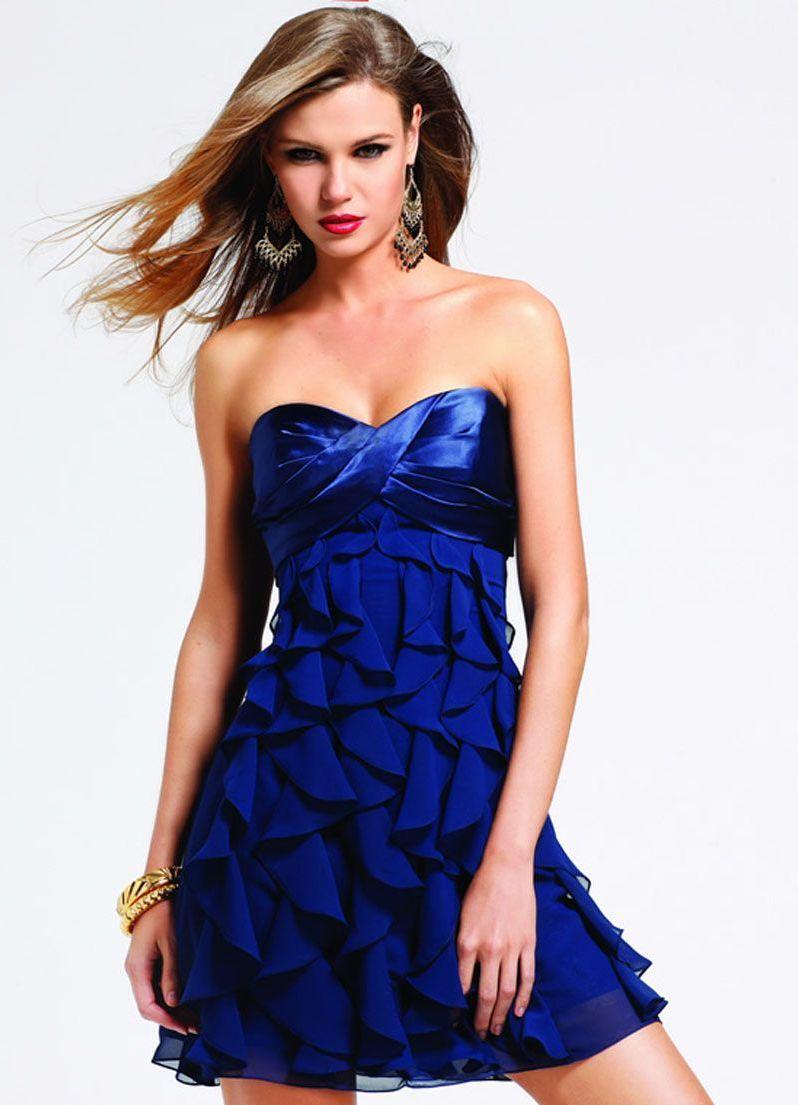 Фото вечерние платья с оборкой