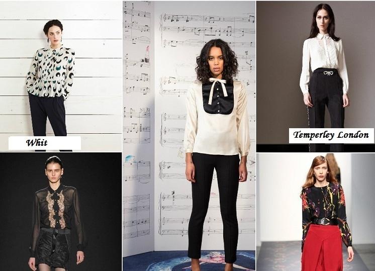 Модные Блузки Осень 2015