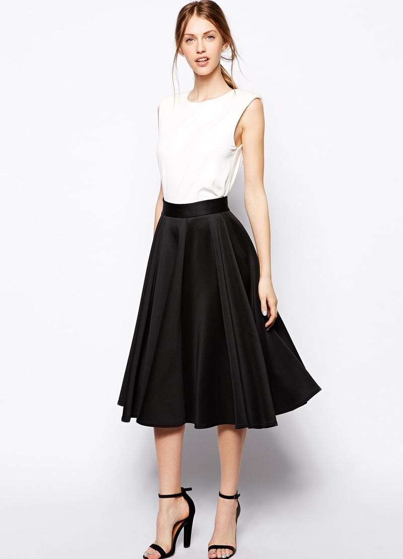 С чем носить юбки разных фасонов большой обзор на все