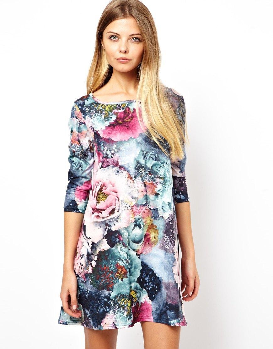 Картинки цветочные платья
