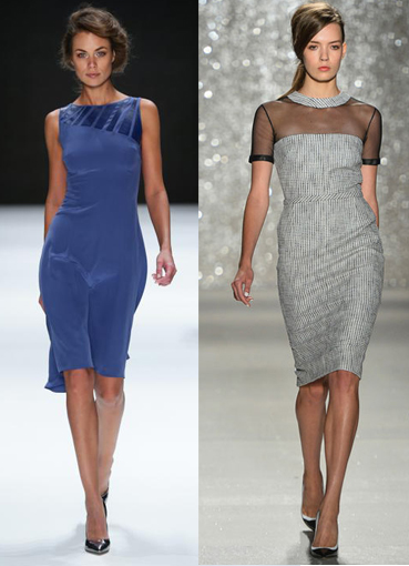 стильные деловые платья фото