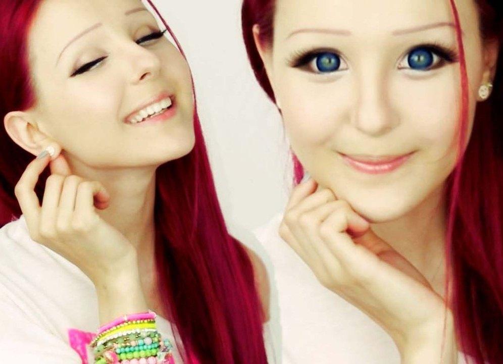 Стиль Девушки Барби  живые куклы существуют фото