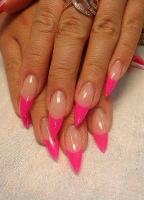 Как сделать овальную форму ногтей фото 678