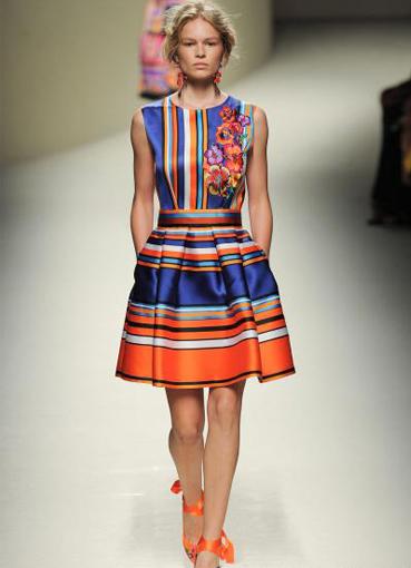 Фасоны летних платьев из штапеля 6