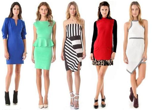Какое платье подойдет типу прямоугольник
