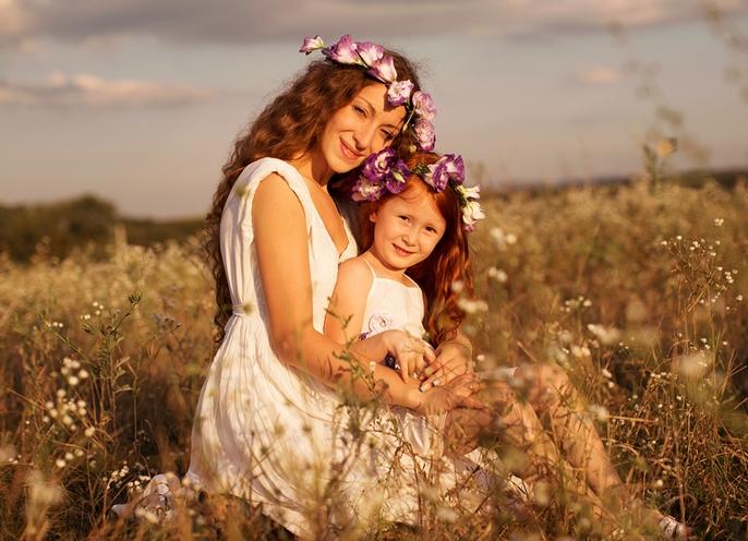 Фотосессия мама с дочкой идеи фото