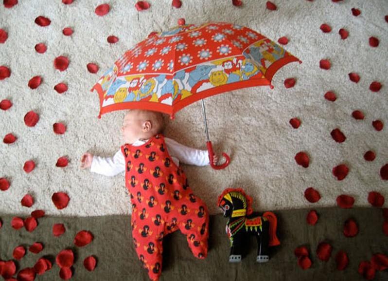 Необычные младенцев в домашних условиях 54