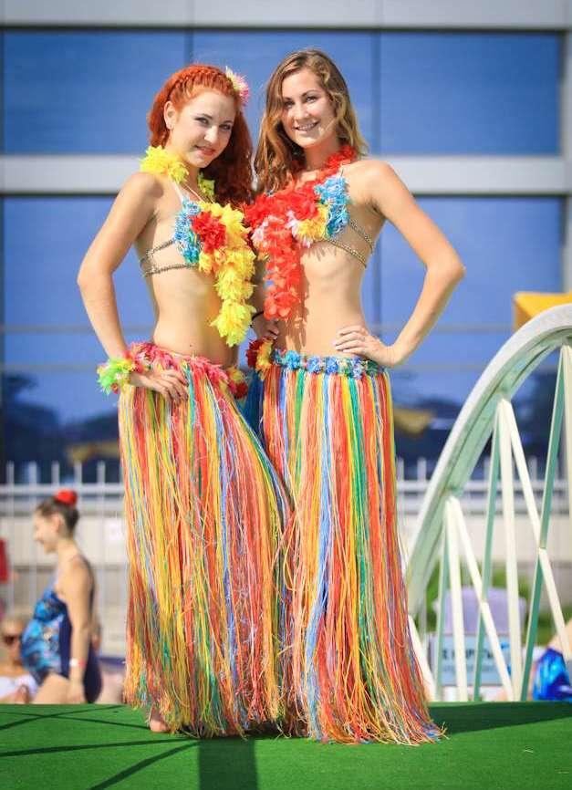 пляжная гавайская вечеринка одежда свою дополнительную