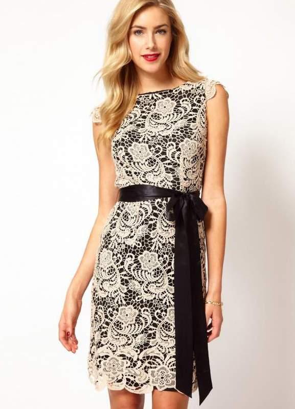 Модные кружевные платья этого года, советы стилиста с примерами и фото.