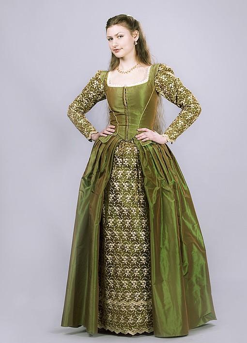 Женское платье 16 века франция фата Большой выбор вечерних платьев для мам