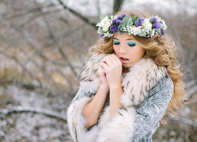 Идеи для зимней фотосессии девушек 4
