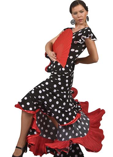 Платья испанских женщин